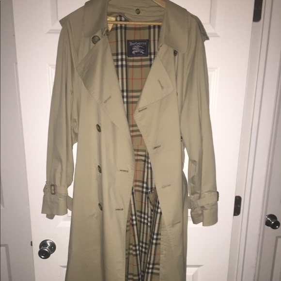 b971143e6b3f0 Burberry Other - VINTAGE Burberry Double Breasted Trench Coat
